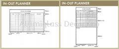 In Out Planner Planner Board White Board (F)