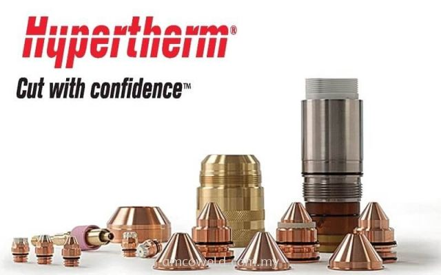 Hypertherm-Consumables-Cut-With-XPR, HPR, MAXPRO and other plasma systemsConfidence