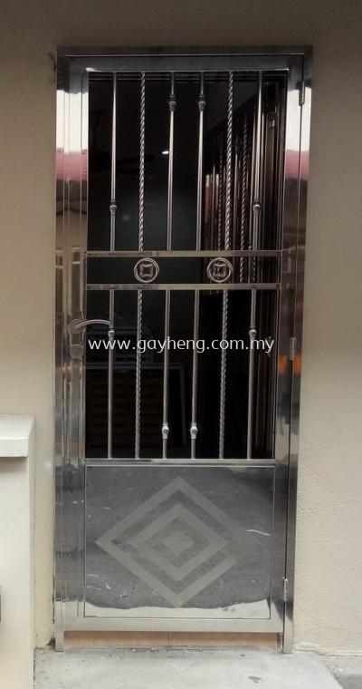Stainless Steel Single Door Grille �ֵ�Ҷ����