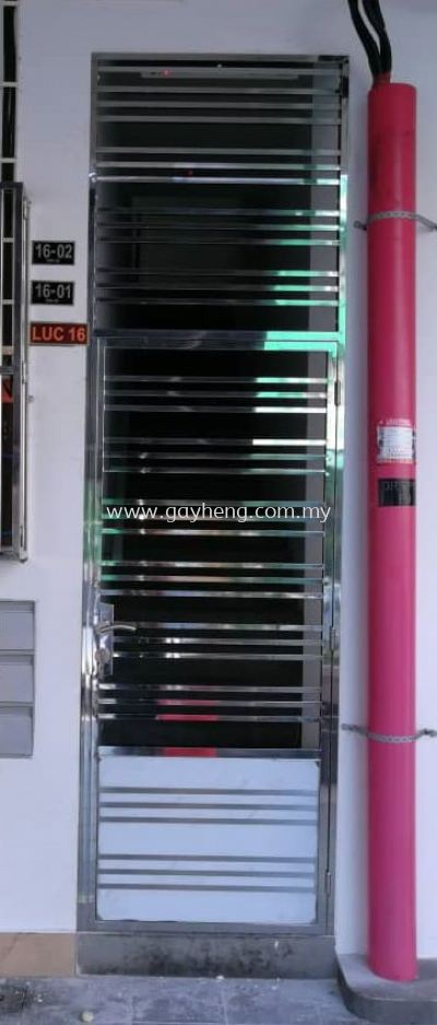 Stainless Steel Single Door Grille �׸ֵ�Ҷ����
