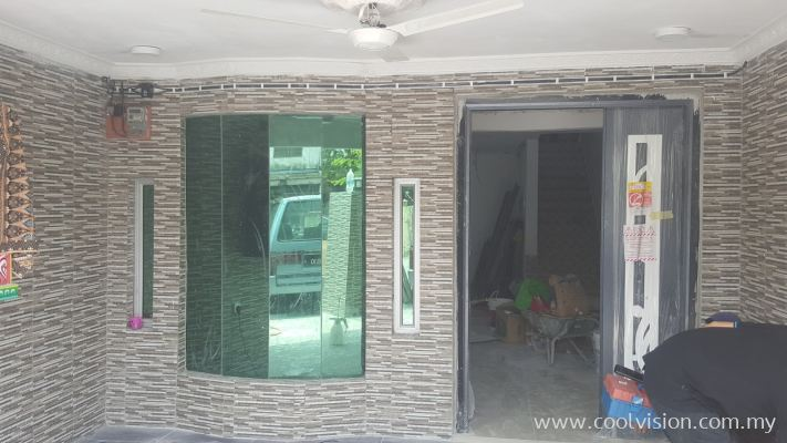 Window Film : Green / Silver