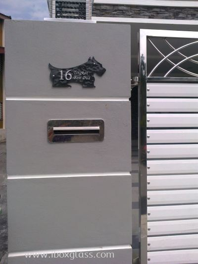 Shappy or Customade Door Plate