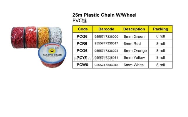 PLASTIC CHAIN / PVC CHAIN