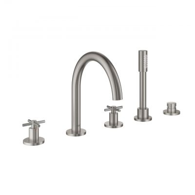 Grohe Atrio 19923DC3 5-Hole Bath Combination