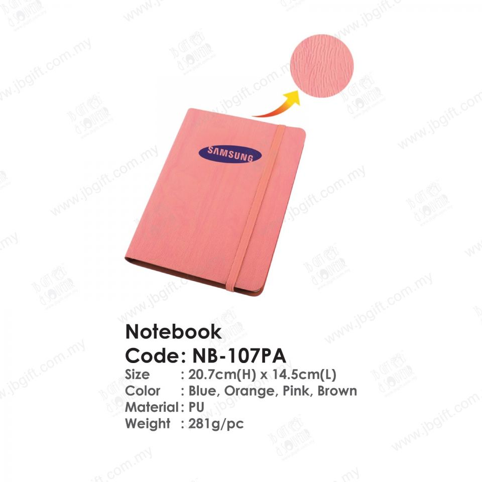 Notebook NB-107PA Notebook Note Book/Organizer/Diary