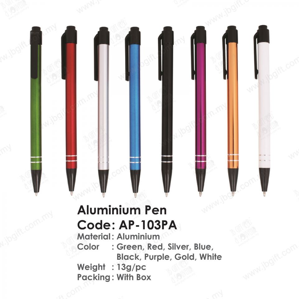 Aluminium Pen AP-103PA Metal Pen Pen/Pencil Stationery