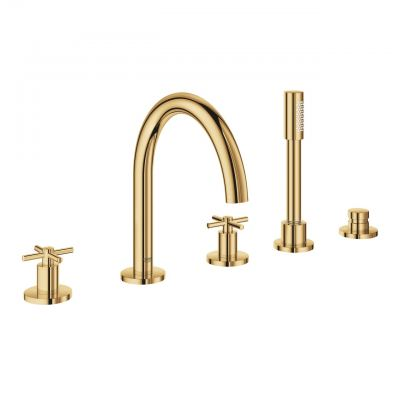 Grohe Atrio 19923GL3 5-Hole Bath Combination