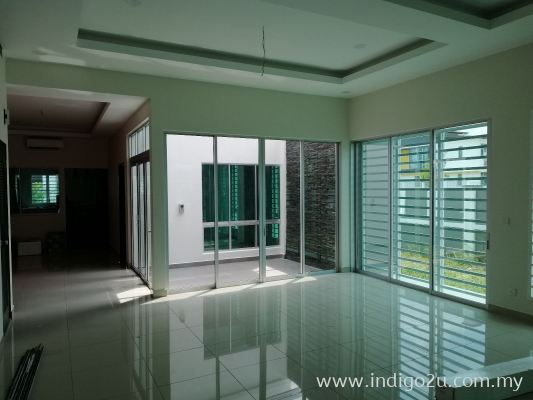 TINTED FILM : LITE GREEN