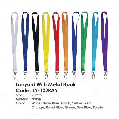 Lanyard With Metal Hook LY-102RAY