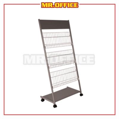 MR.OFFICE : MR-201 3 Tier Magazine Rack / Almari Majalah