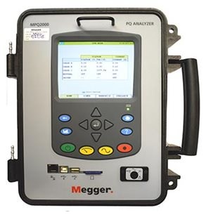 MPQ2000 PORTABLE POWER QUALITY ANALYZER