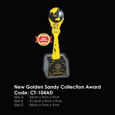 New Golden Sandy Collection Award CT-104AD