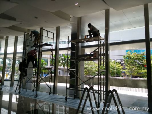 Tinded Film : Security Window Film