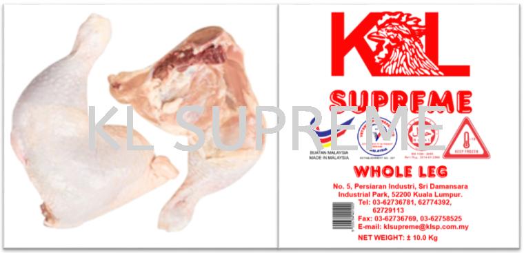 Mc whole leg (Chicken Leg Quarter)/鸡全腿(有背骨) Chicken Parts Chicken