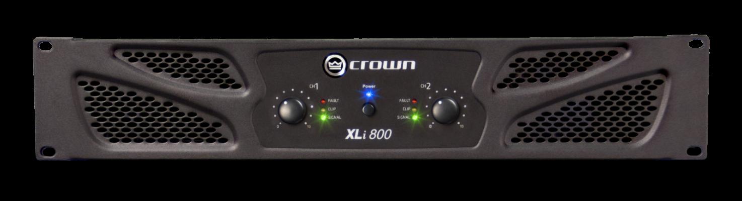 CROWN XLi 800 POWER AMPLIFIRE