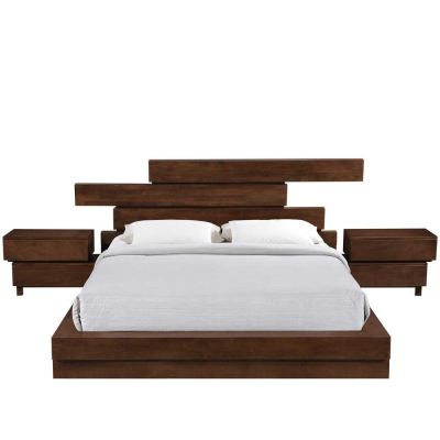 Contemporary & Platform Bed HL1887