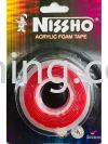 NISSHO ACRYLIC FOAM TAPE - CLEAR 12mm Adhesive Tape Hardware