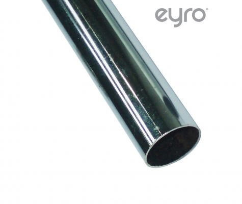 Chrome Pipe 25mm 3025CH