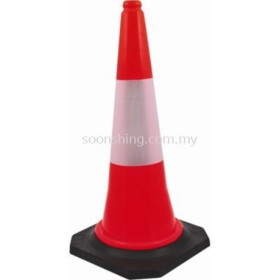 Safety Cone Black Base 30""