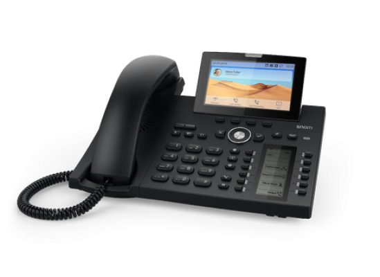 D385. Snom Deskphone (The perfect mix of elegance and cutting-edge technology)