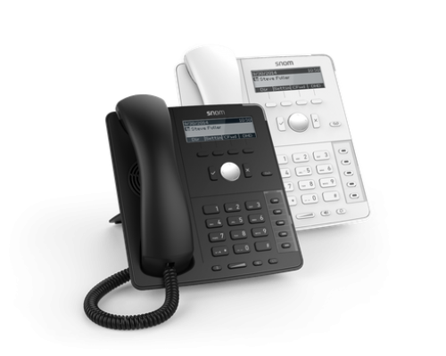 D715. Snom Desk Telephone (A professional desk phone with high-speed connectivity)