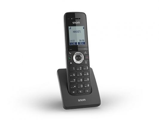 M15 SC. Snom Dect Handset (Cost-effective handset for Snom SC base stations)