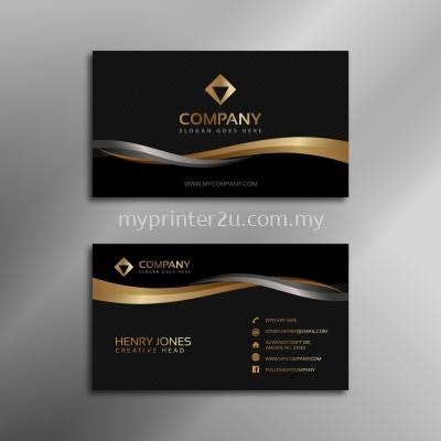 260g Art Card Matt Lam (D) + Sport UV (D) Business Card