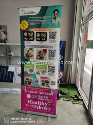 Food Delivery Promotion Roll Up Bunting