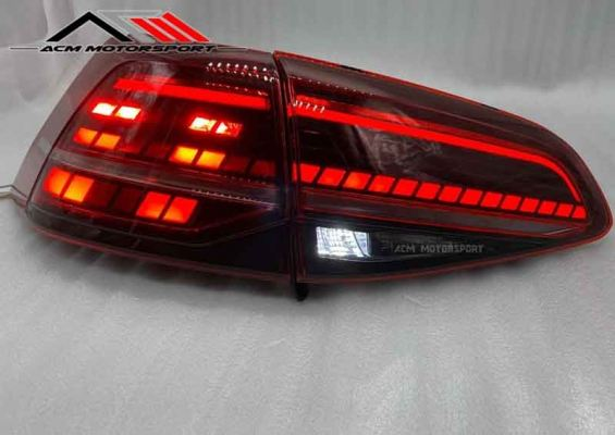Golf 7 LED Light Bar Tail Lamp 12-17