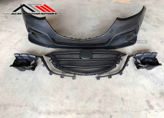 mazda 3 knight sport Frontbumper ABS Material
