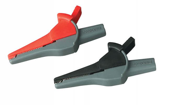 Extech TL806 Double Insulated Alligator Clips