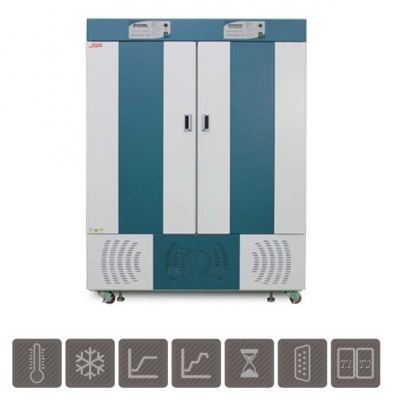 Two x 250L Dual Chamber Refrigerated Incubator