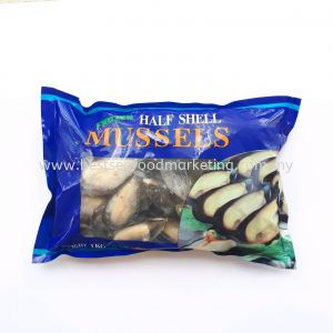 Black Mussel Half Shell / 半壳黑口 (sold per pack)