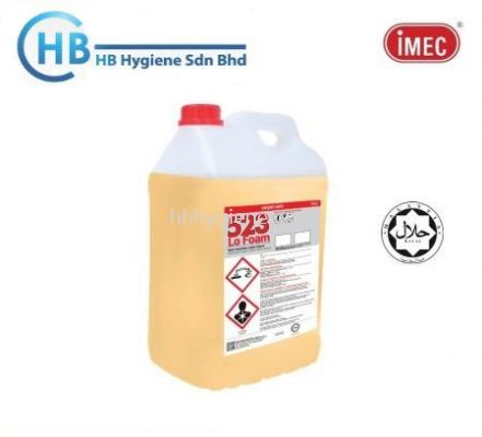IMEC 523 Lo Foam, Extraction Carpet/Sofa Cleaner, 2 x 10L