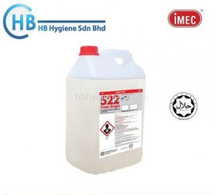IMEC 522 Foam Bright, Upholstery and Rug Shampoo, Halal, 2 x 10L
