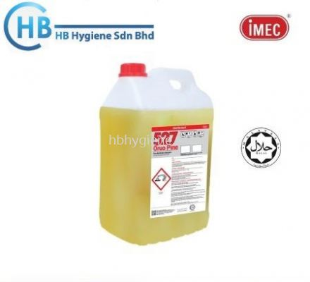 IMEC 527 Oruo Pine General Purpose Liquid Toilet Disinfectant, Halal, 2 x 10L