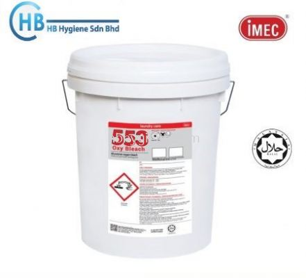 IMEC 553 Oxy Bleach All Purpose Oxygen Bleach, Halal, 20L