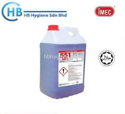 IMEC 551 MP7, Multipurpose Floor Cleaner, Halal, 2 x 10L
