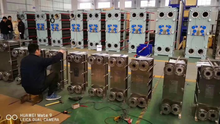 Yuanzhou Gasket Type Heat Exchanger