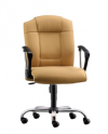 HOL-EX102 LOW BACK CHAIR PU & Leather Chair Office Chair Office Furniture