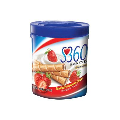 S360 Wafer Sticks Strawberry