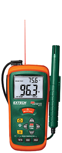 RH101: Hygro-Thermometer + InfraRed Thermometer