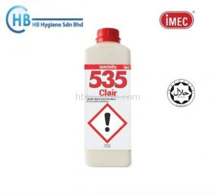 IMEC 535 Clair, Emulsion Cleaning and Polishing, Halal, 1L