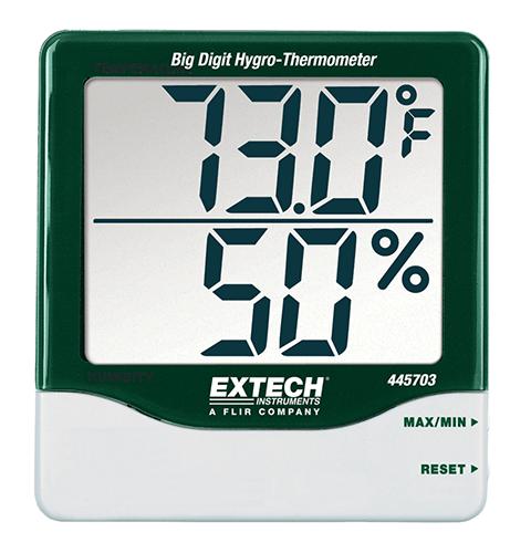 445703: Big Digit Hygro-Thermometer