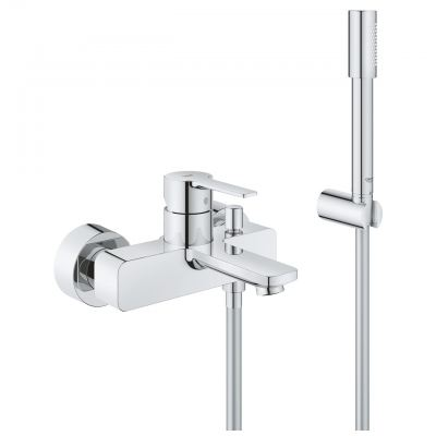 Grohe Lineare 33850001 Bath/Shower Mixer with Shower Set