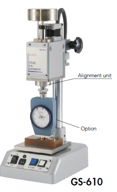TECLOCK �C Automatic Type Motor Driving Durometer Stand