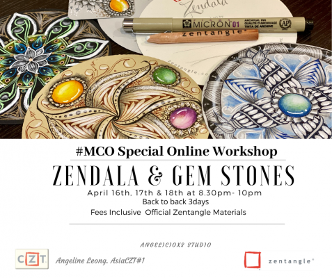 Zendala & Gemstones Workshop