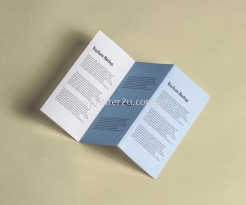 A2 Simily Brochure 100g (Z-Fold)
