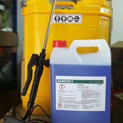 Disinfectant Sanifect mix water 5L:50L ID31850