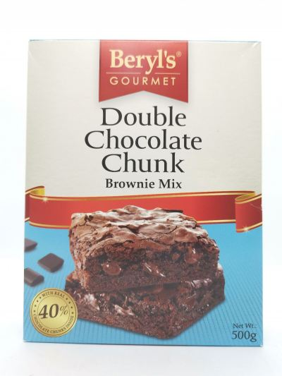 Double Chocolate Chunk (Brownie Mix)